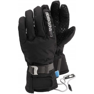 Svart Five Youth Glove, Didriksons