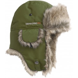 Khaki Green/Peat Helge Womens Hat, Didriksons