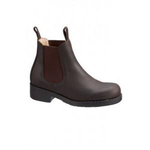NYHET! Brun Chelsea Boots, Johnny Bulls