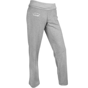 NYHET! Gråmelerad Essential Yoga Sweatpants, Bagheera