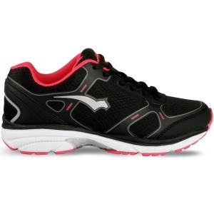 Svart/Rosa AEX C75 Woman Running Shoe, Bagheera