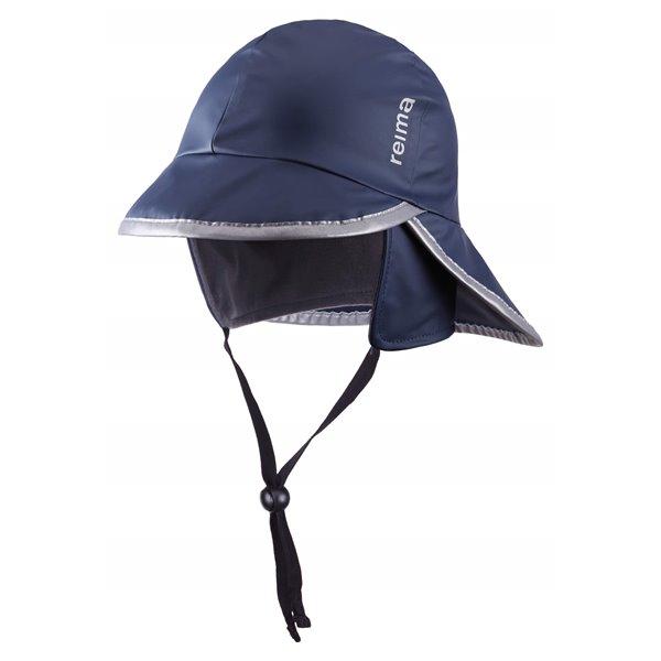 Mörkblå Ropina Rain Hat, Reima