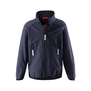 Mörkblå Recharge Softshell Jacket, Reima
