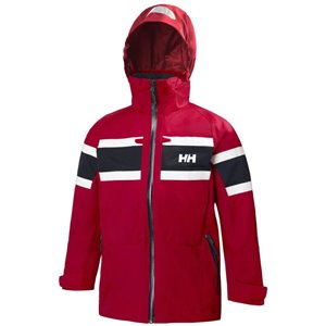 Röd Jr Salt Jacket, Helly Hansen