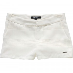 Vit/Off White Short, DKNY Child