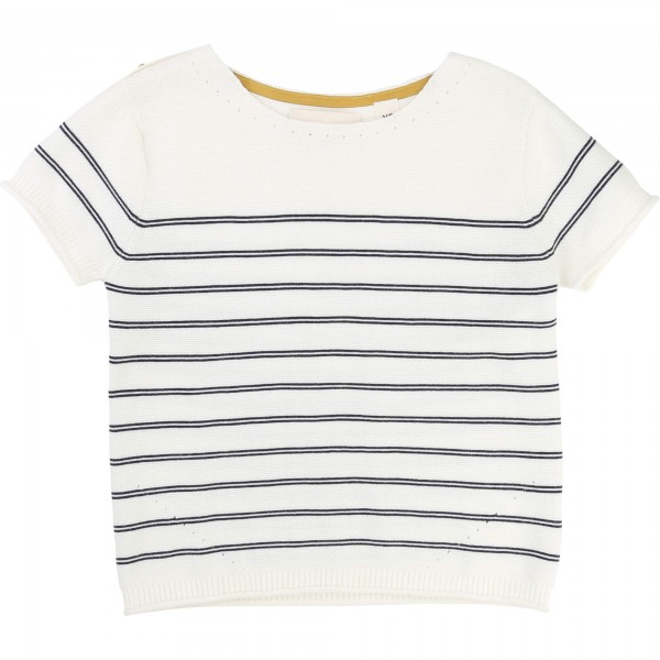 f5cae1064d3e Vit/Off White Tröja, Une Fille - Fashionized