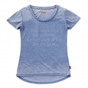 Blå/Coloni Blue Alice Tee, Levi´s Girls