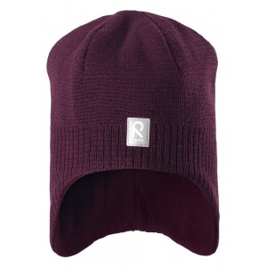 Red/Beetroot Lumula Beanie, Reima