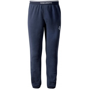 Navy Monte Kids Microfleece Pant, Didriksons
