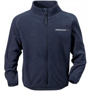 Navy Monte Kids Microfleece Jacket, Didriksons
