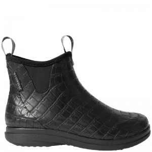Black Hampton II Croco Embossed, LaCrosse