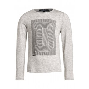 Gråmelerad Long Sleeves Tee, DKNY