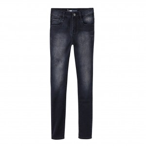 NYHET! Svart/Caviar High Waist Jeans, Levi´s Kidswear