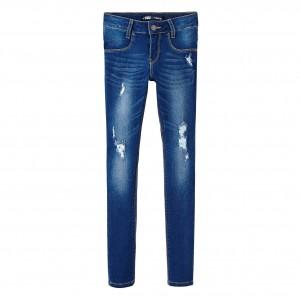 Blå/Indigo Super Skinny Jeans, Levi´s Kidswear