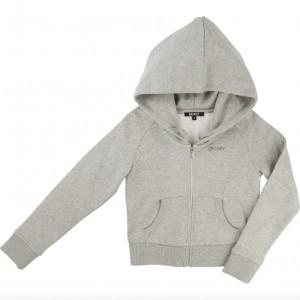 NYHET! Grå/Silver Fleece Cardigan, DKNY
