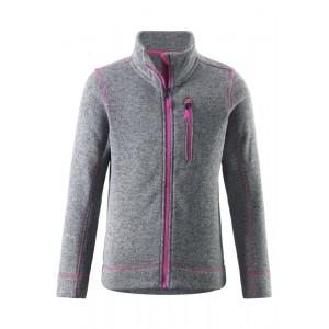 Grå Lichen Fleece Jacket, Reima