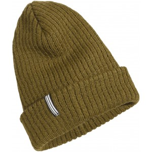 Khaki/Dark Wheat Mason Youth Beanie, Didriksons