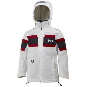 White Jr Salt Jacket, Helly Hansen