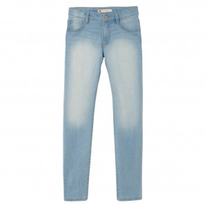 NYHET! Blå/Sodalite Blue Skinny Pant High Rise (NJ22557), Levi´s Girls