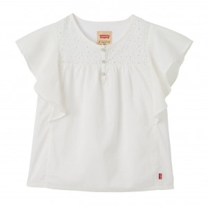 White SS Tee Shirt Bonnie Tunic, Levi´s Girls