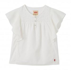 Vit Bonnie SS Shirt Bonnie Tunic, Levi´s Girls