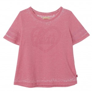 Pink/Fairy Tale SS Amely Tee, Levi´s Girls