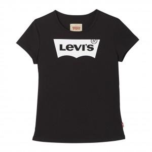 Svart/Caviar SS Logo Tee, Levi´s Girls