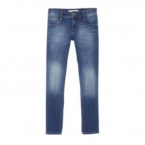 Blå/Sodalite Blue Skinny Pant 711 (N92252J), Levi´s Boys