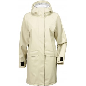Vit/Light Beige Elly Womens Coat, Didriksons