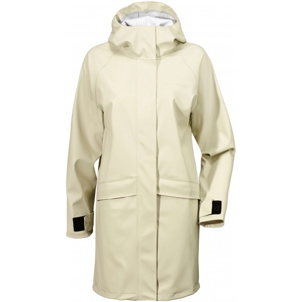 Vit/Light Beige Elly Womens Coat, Didriksons