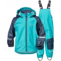 Peacock Green Stormman Kids Set, Didriksons
