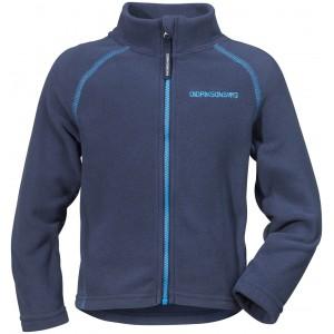 Mörkblå Monte Kids Microfleece Jacket 2, Didriksons
