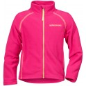 Fuchsia Monte Kids Fleece Jacket, Didriksons