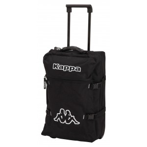 Svart Travel Trolley Bag, Kappa