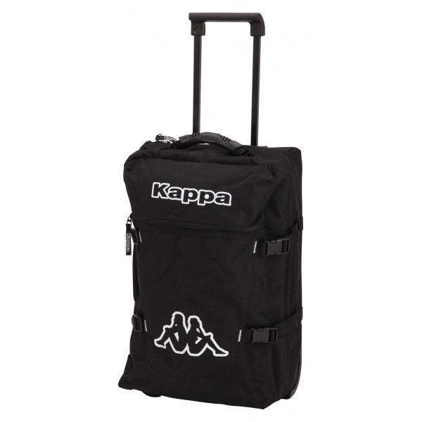 Svart Travel Trolley Bag, Kappa