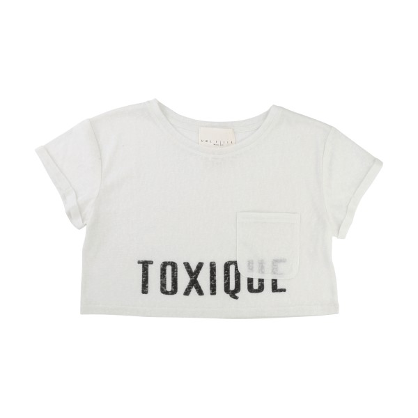 NYHET! Off White T-shirt Infusion, Une Fille