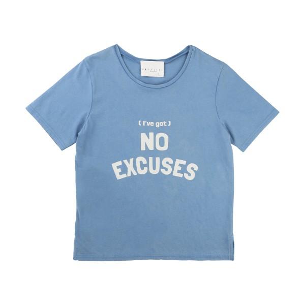 Blå T-shirt Velveteen, Une Fille