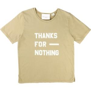Sandfärgad T-shirt Velveteen, Une Fille