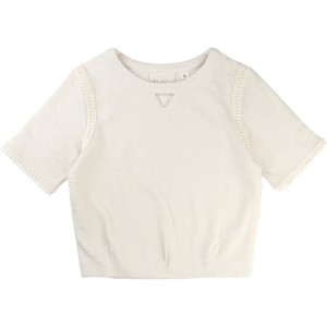 Ivory Sweatshirt Santa Monica, Une Fille