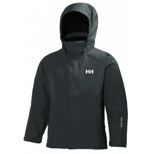 Svart Jr Seven Jacket, Helly Hansen