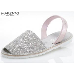 NYHET! Sandalett Glitter Snow Pink, Marenas