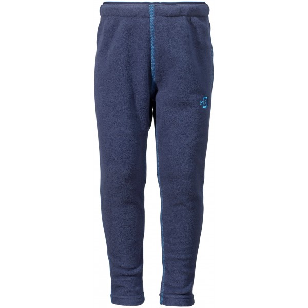 Navy Monte Microfleece Kids Pant 2, Didriksons