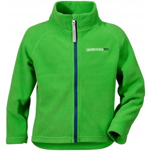 NYHET! Grön/Kryptonite Green Monte Microfleece Kids Jacket, Didriksons