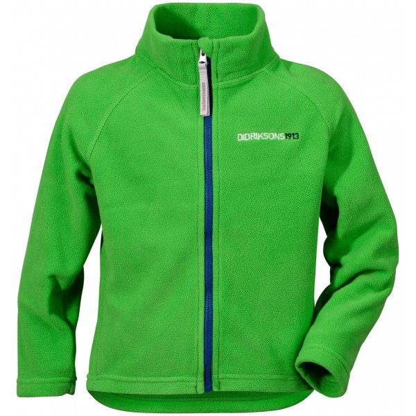 Kryptonite Green Monte Kids Microfleece Jacket, Didriksons
