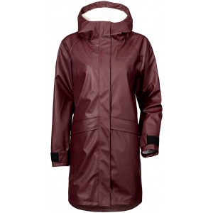 NEWS! Wine Red/Old Rust Ulla Womens Coat, Didriksons