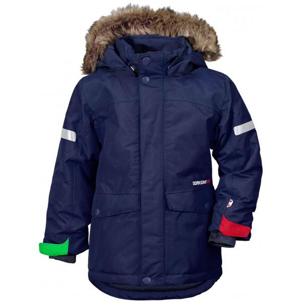 Mörkblå Storlien Kids Jacket, Didriksons