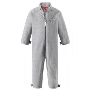 Grey Melange Ester Fleece Overall, Reima