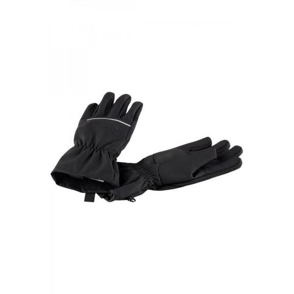 Black Eriste Softshell Gloves, Reima
