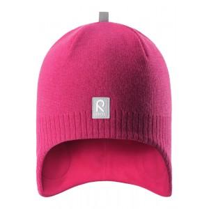 Pink/Berry Lumula Beanie, Reima