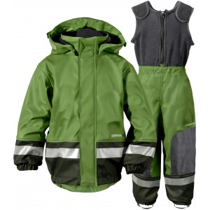 Turtle Green Boardman Kids Set, Didriksons
